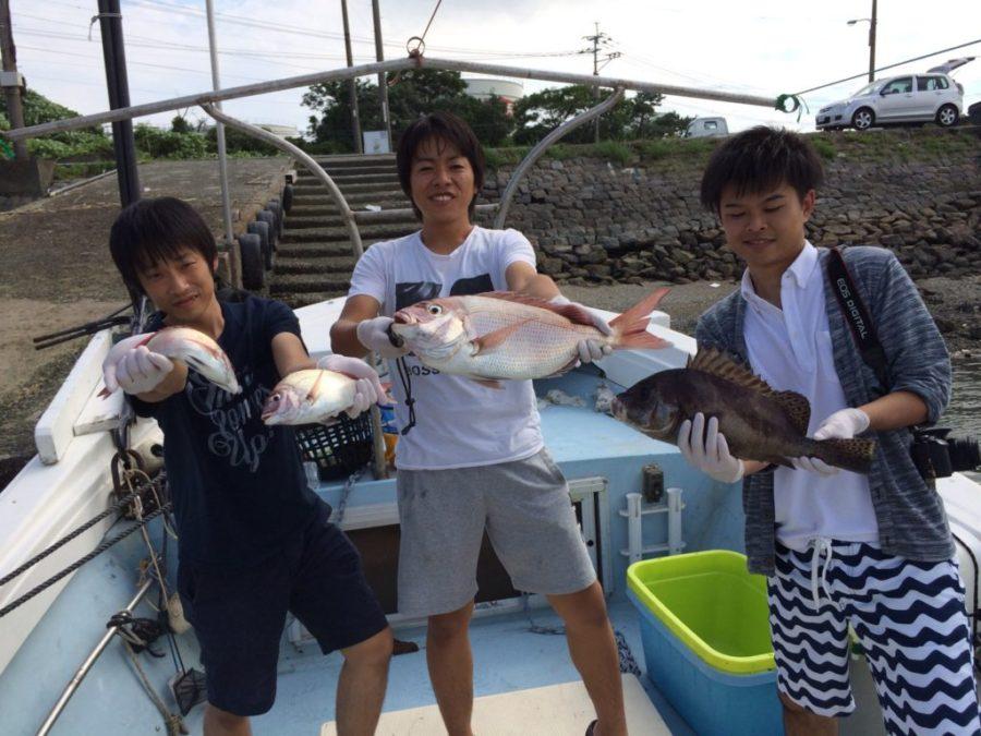 タイラバ、テンヤ真鯛