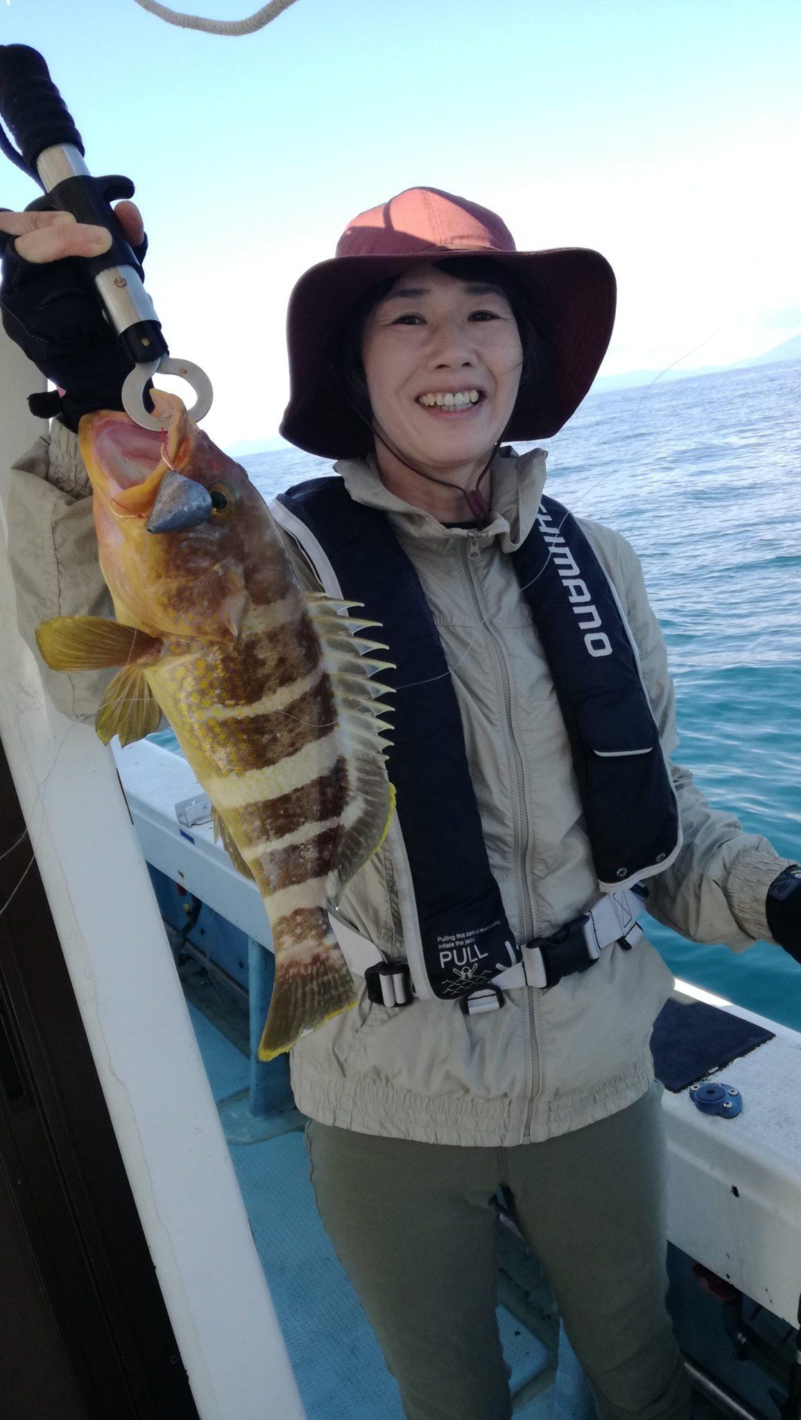 遠征真鯛、根魚