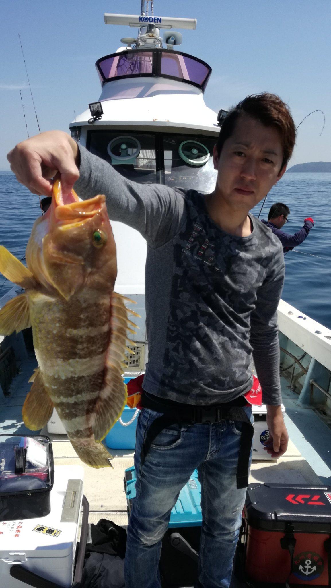 真鯛、根魚