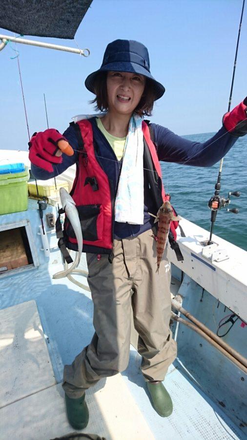 キス釣り、午後…